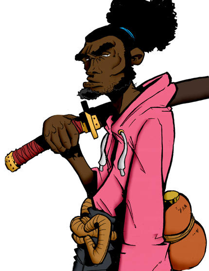 Afro Samurai by red2z