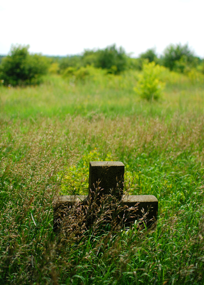 Forgotten cemetery by cageformoments