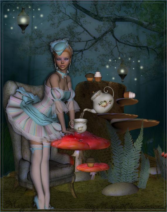 Alice au pays des merveilles by marjie79 on deviantart - Deco alice au pays des merveilles ...