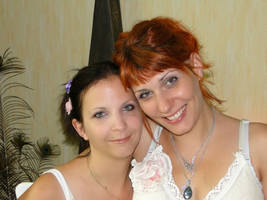 My sister MMelusine and I