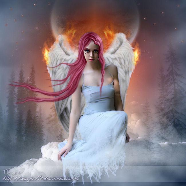 L'empreinte d'un ange by Marjie79