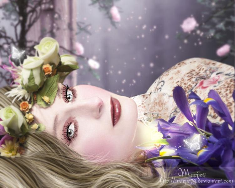 Queen of Flowers by Marjie79