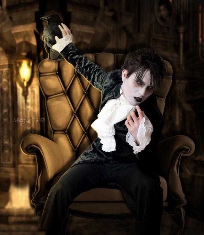 Mr Poe by Marjie79