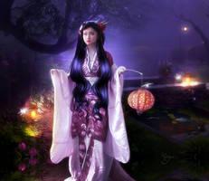 Doux printemps au clair de Lune by Marjie79