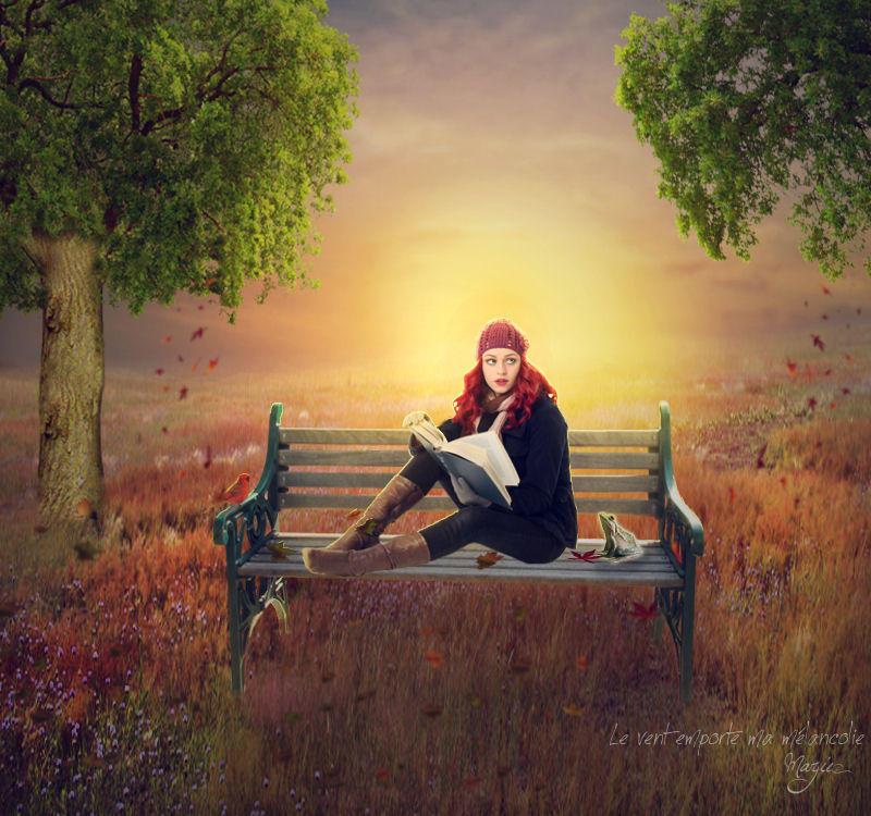 Le vent emporte ma melancolie