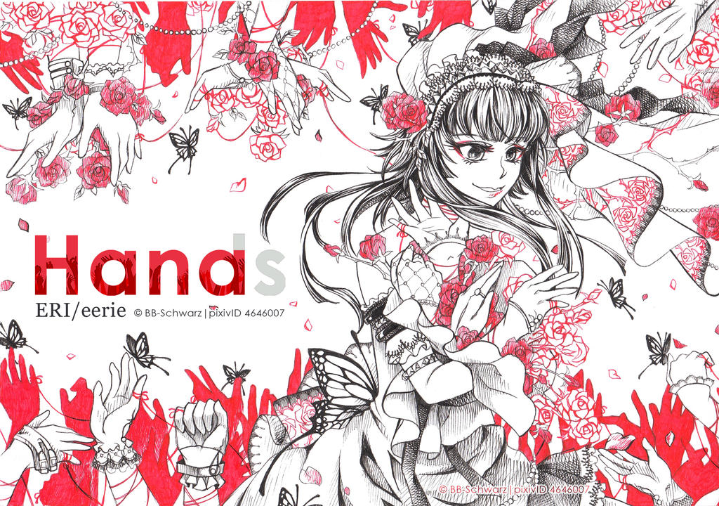 Hands = Hana by BB-Schwarz