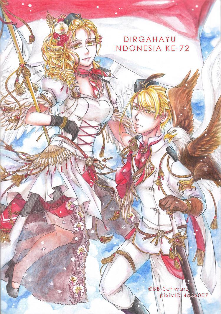 Dirgahayu Indonesia 72 by BB-Schwarz