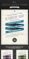 Retro Alternative Flyer