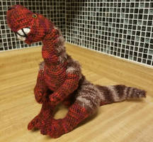 Grinning Tyrannosaur Doll