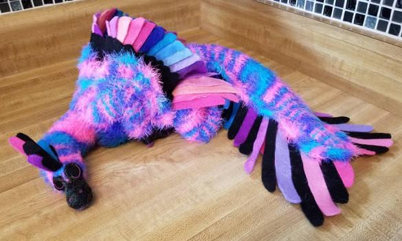 Galaxy Velociraptor