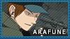Arafune Tetsuji - Stamp by Replica-sensei