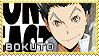 Bokuto Koutarou - Stamp by Replica-sensei
