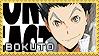 Bokuto Koutarou - Stamp by Replica-sensei