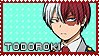 Todoroki Shouto - Stamp by Replica-sensei
