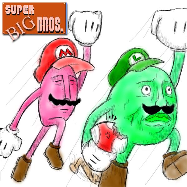 The Super 'Big' Bros.
