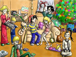 Christmas at Ness's House