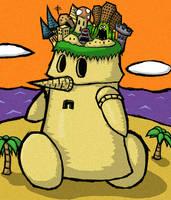 Wind Waker Dungeon Man by The-Bradshacalypse