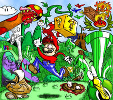 This is Mario... On Drugs by The-Bradshacalypse