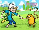 Wind Waker Style Finn and Jake