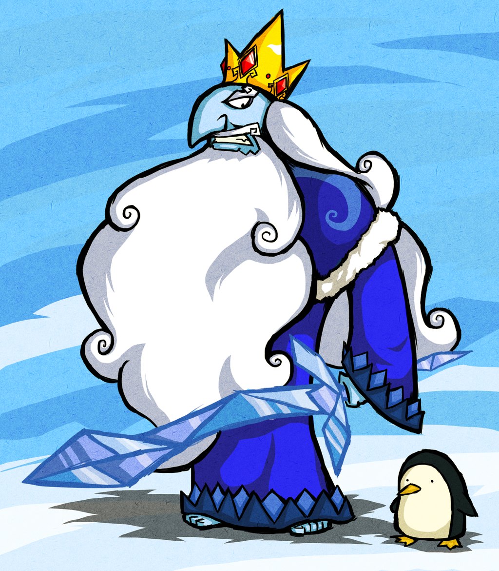 Wind Waker Style Ice King by Bradshavius