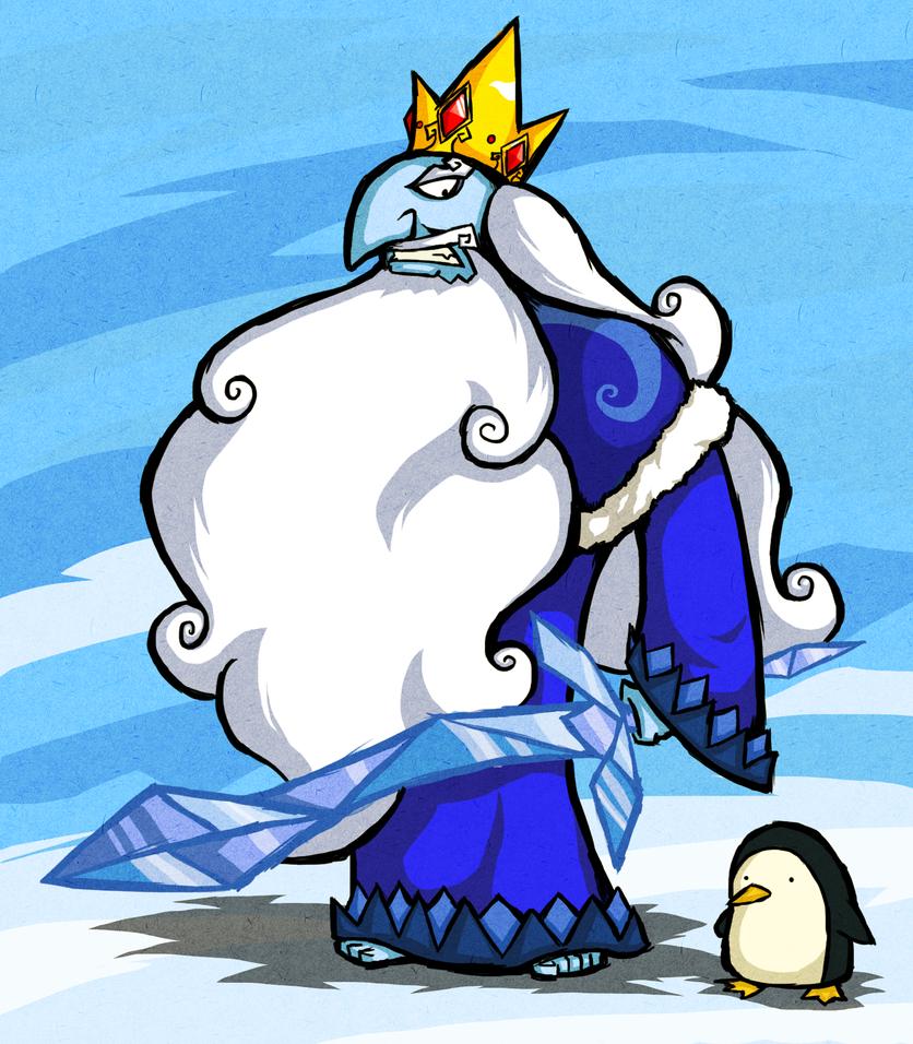 Wind Waker Style Ice King by The-Bradshacalypse