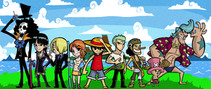 Wind Waker Style Straw Hat Pirates