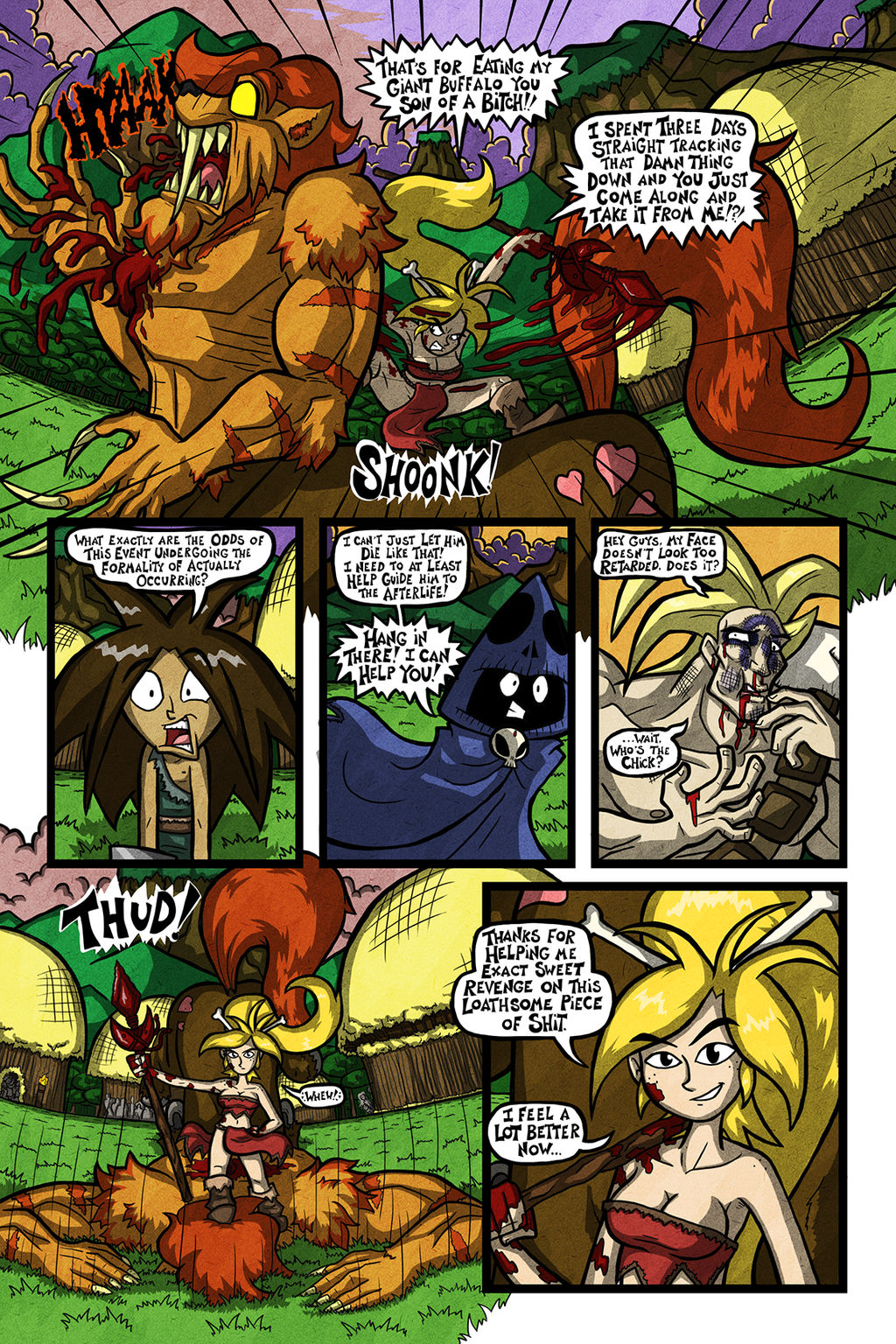 'Stone Punks' - Episode 1, Page 9