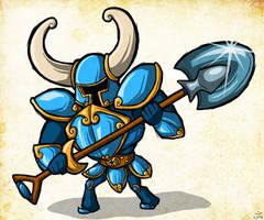 Wind Waker Style -- Shovel Knight by The-Bradshacalypse