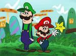 Hanna-Barbera Style Super Mario Bros