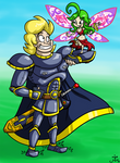 Art Test - Sir Dufius and The Fairy