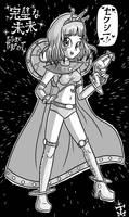 Manga-Style Rae Angelicus Pinup