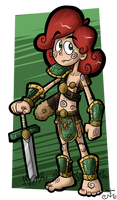 Voice o' the Fae - Character Concept Art