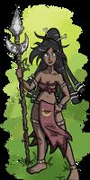 Muna the Huntress - Reboot Version