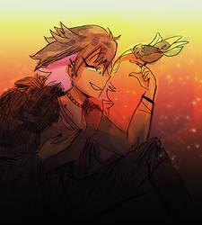 [nonrne] tell me little bird