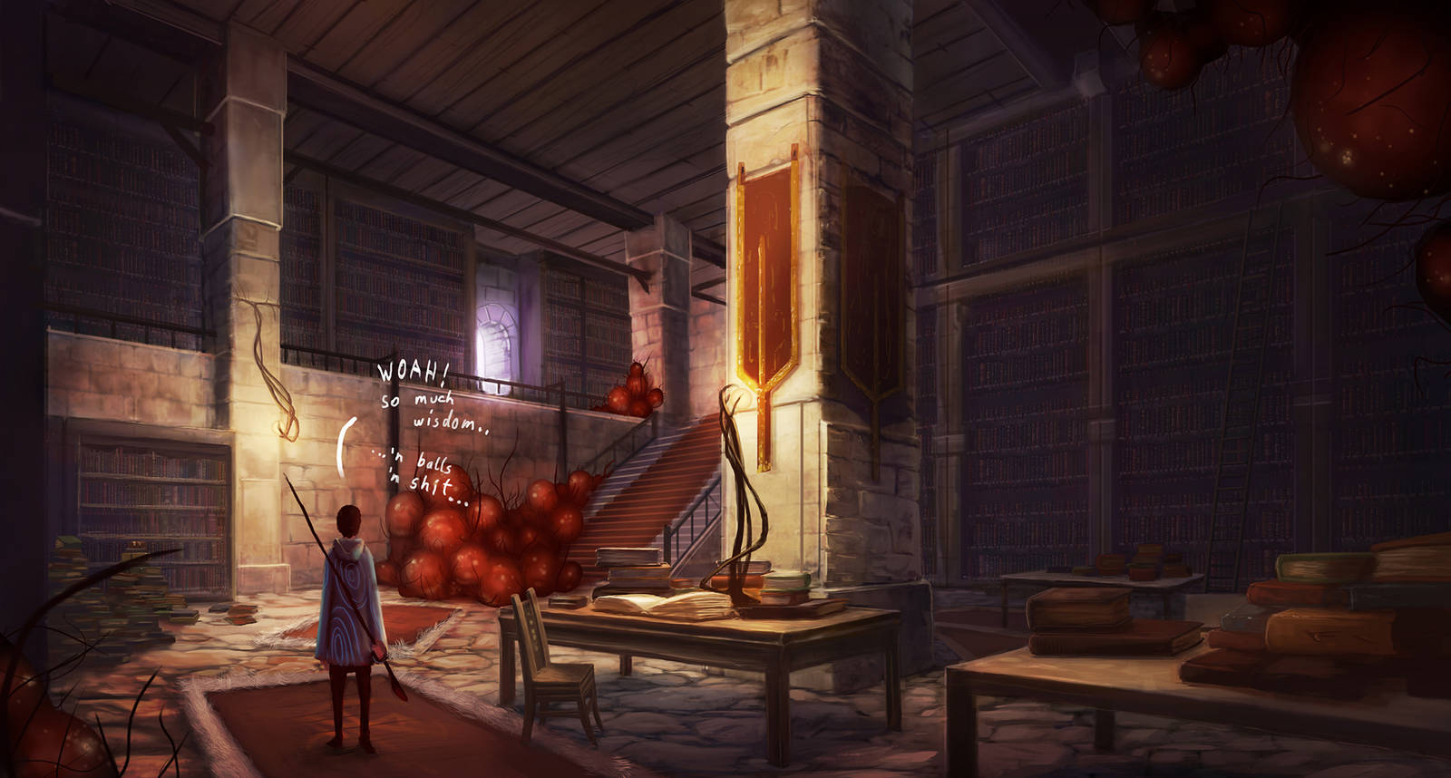Library by LukasBanas