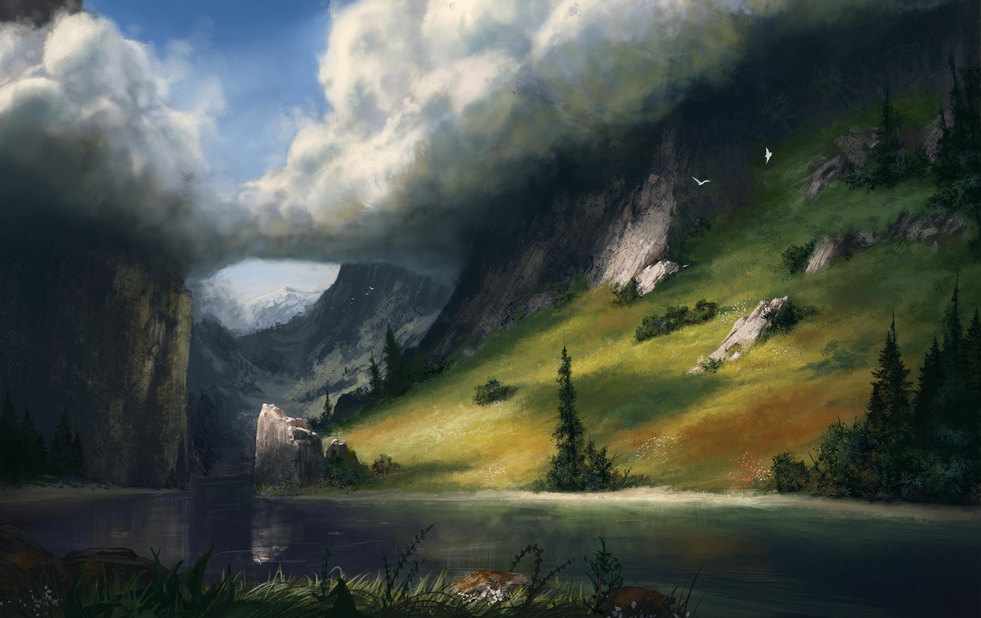 Just a lake by LukasBanas