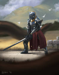 Knight Defender by LukasBanas