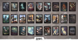 Collectible TCG Tokens by LukasBanas