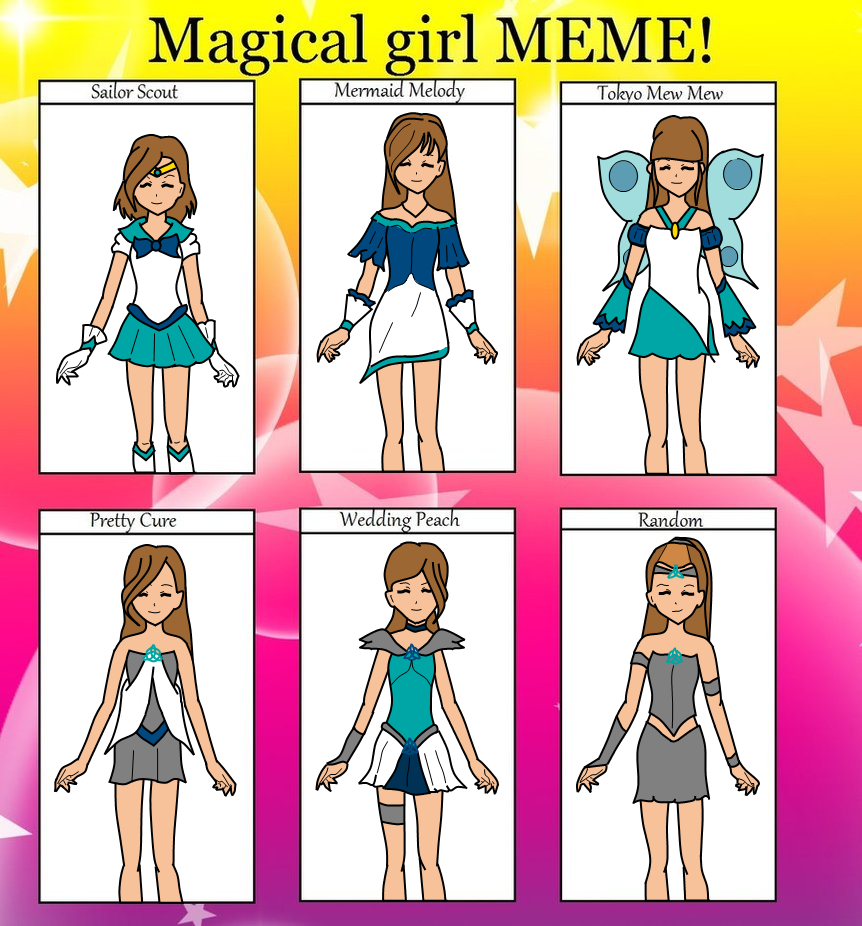 Kate Meme Kate magical girl meme by tloz-freack123
