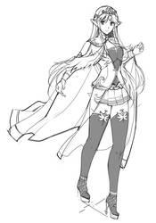 Seravis (Princess Costume) by sasana-u