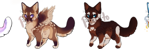 Cat Adopts - #1 and #4 - Open