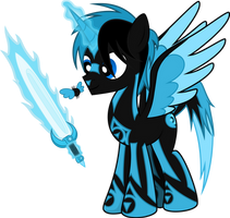 Gift - Blue Wisps by Budgeriboo