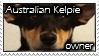 Aussie Kelpie stamp1 by RakshaWw