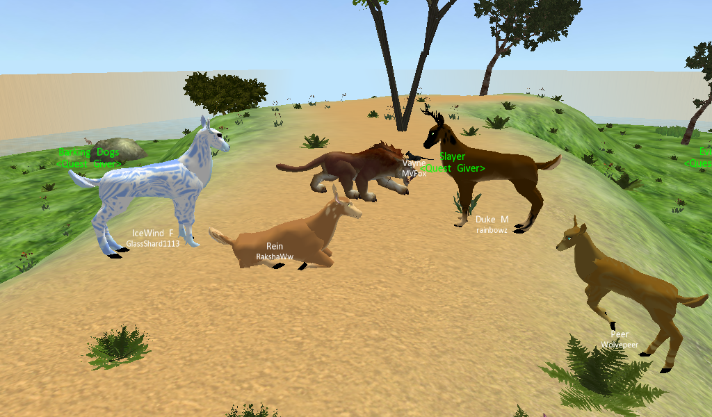 Last Moon (3D Animal Game) Deer! by RakshaWw