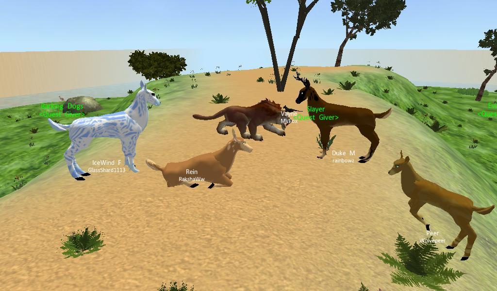 Last Moon (3D Animal Game) Deer! by RakshaWw