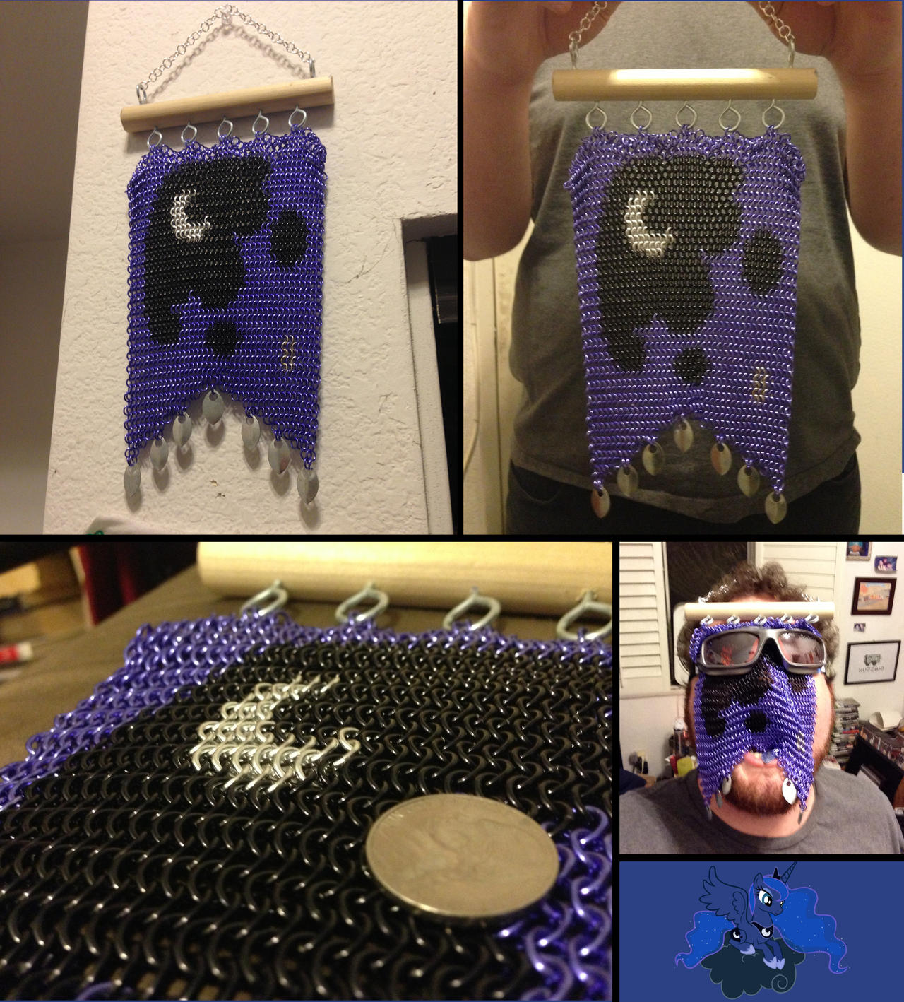Nocturne ~ Chainmaille Banner by Ignition4596