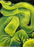 Squished Elephant