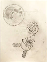 Space Duck Zo Moon View w