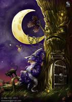 Wizard of Dark Moon by Dalaukar