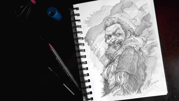 Wild Happy Knight by Dalaukar